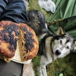 brød på bål